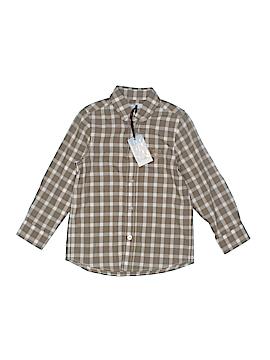 Tartine et Chocolat Long Sleeve Button-Down Shirt Size 5T