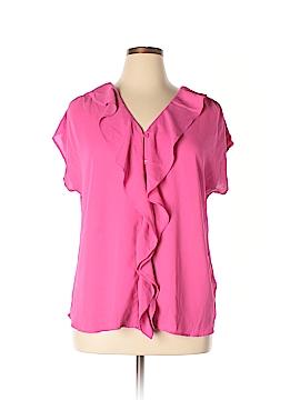 INC International Concepts 3/4 Sleeve Blouse Size 1X (Plus)