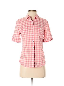 Vineyard Vines Short Sleeve Button-Down Shirt Size 4