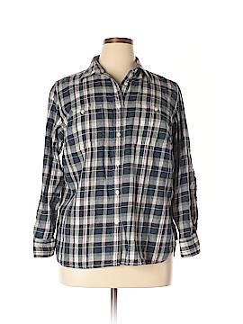 L-RL Lauren Active Ralph Lauren Long Sleeve Button-Down Shirt Size 1X (Plus)