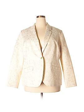 Dana Buchman Silk Blazer Size 22 (Plus)