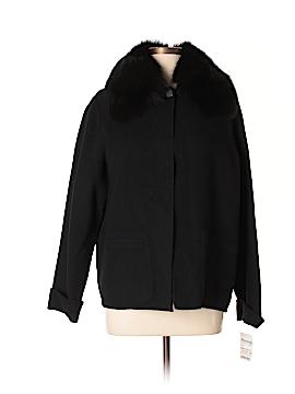 Carole Little Wool Coat Size L