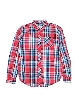 Arizona Jean Company Long Sleeve Button-Down Shirt Size 18