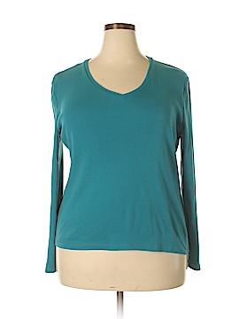 Jones New York Sport Long Sleeve T-Shirt Size XXL