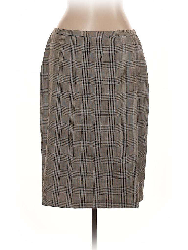 Brooks Brothers Women Wool Skirt Size 14