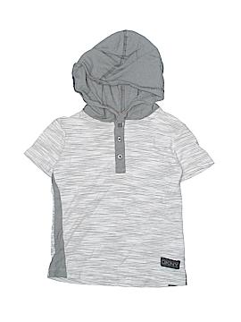 DKNY Short Sleeve Henley Size 4