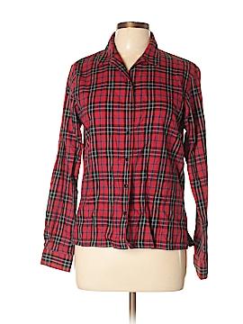 Crazy Horse by Liz Claiborne Long Sleeve Button-Down Shirt Size M
