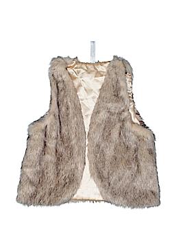 Knit Works Faux Fur Vest Size L (Kids)