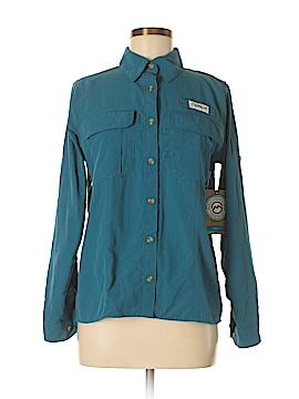 Magellan Sportswear Long Sleeve Button-Down Shirt Size S