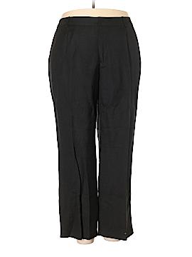 Jessica London Linen Pants Size 24W (Plus)