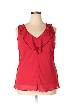 A. Byer Sleeveless Blouse Size 1X (Plus)