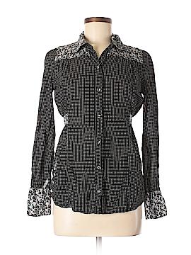 BKE Long Sleeve Button-Down Shirt Size S