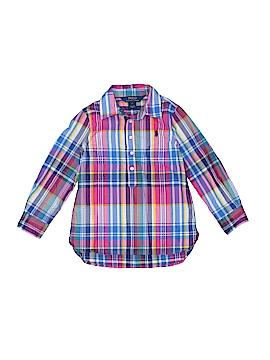 Polo by Ralph Lauren Long Sleeve Button-Down Shirt Size 4