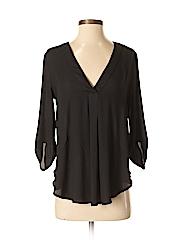 Lush Women 3/4 Sleeve Blouse Size S