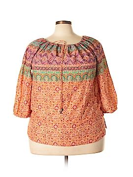 Ralph Lauren 3/4 Sleeve Blouse Size 1X (Plus)