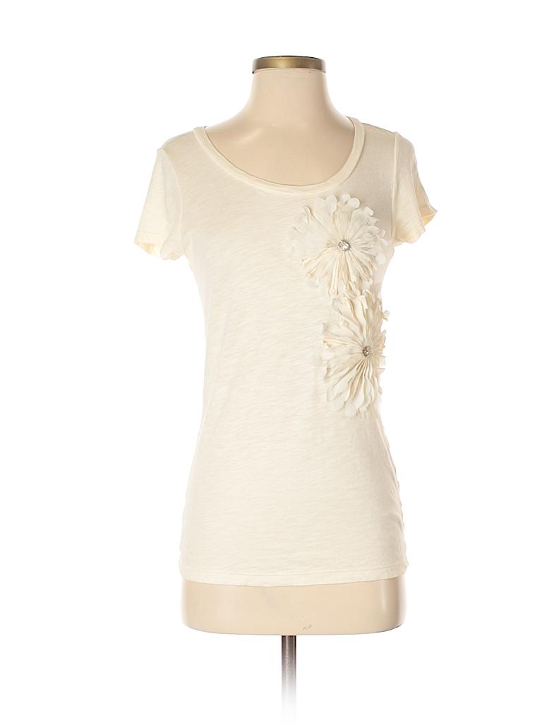 Caslon Women Short Sleeve T-Shirt Size S