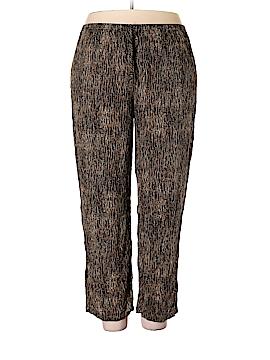 Saint Tropez West Casual Pants Size 2X (Plus)