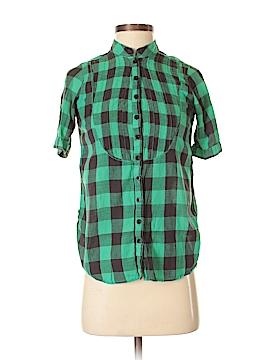 Tramp Short Sleeve Button-Down Shirt Size S