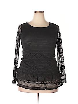 J Mode USA Long Sleeve Top Size L