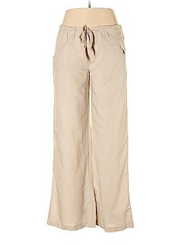 Planet Gold Linen Pants Size L