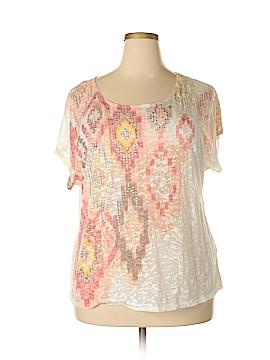 Ruby Rd. Short Sleeve T-Shirt Size 2X (Plus)