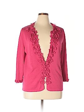 Ellen Tracy Silk Cardigan Size XL