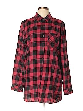 BP. Long Sleeve Button-Down Shirt Size L