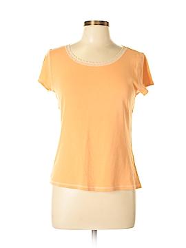 So Blue Sigrid Olsen Short Sleeve Top Size L