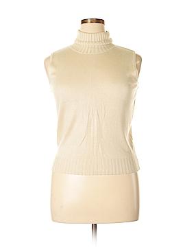 Harve Benard Silk Pullover Sweater Size XL