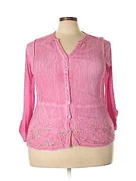 Reba Long Sleeve Top Size 1X (Plus)