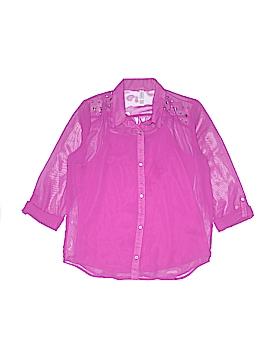Xhilaration Long Sleeve Blouse Size 14 - 16
