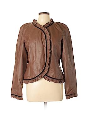 Spiegel Leather Jacket Size 12