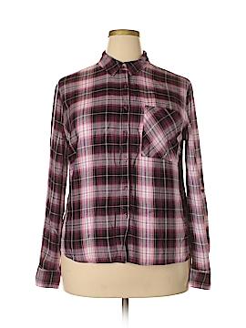 Como Long Sleeve Button-Down Shirt Size XXL
