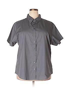 Port Authority Short Sleeve Button-Down Shirt Size 3X (Plus)