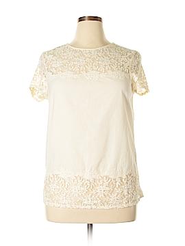 Sisley Short Sleeve Blouse Size M