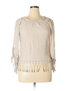 Melissa Paige Long Sleeve Blouse Size M