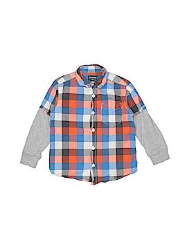 OshKosh B'gosh Long Sleeve Button-Down Shirt Size 3