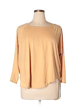 RVCA 3/4 Sleeve Top Size S