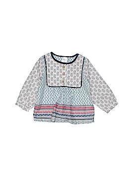 Carter's Long Sleeve Button-Down Shirt Size 9 mo