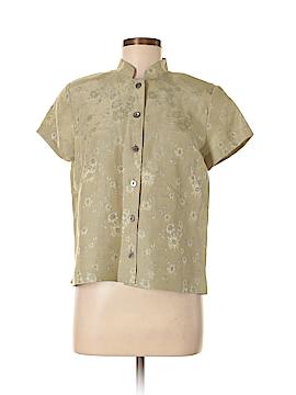Doncaster Short Sleeve Button-Down Shirt Size 8