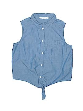 H&M Sleeveless Button-Down Shirt Size 11 - 12