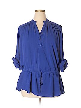 Spense Long Sleeve Button-Down Shirt Size XL
