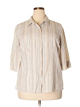 Studio 1940 3/4 Sleeve Button-Down Shirt Size 18 - 20 (Plus)