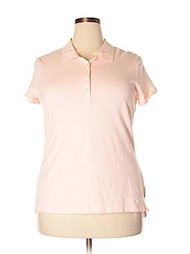 Faded Glory Short Sleeve Polo Size 2X (Plus)