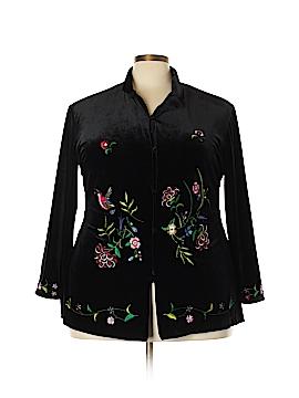 Susan Graver Jacket Size 1X (Plus)