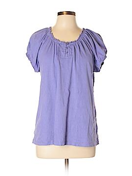 Kim Rogers Short Sleeve Henley Size XL
