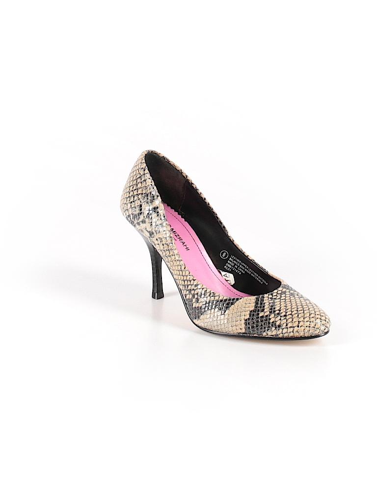 Isaac Mizrahi for Target Animal Print Beige Heels Size 6 - 75% off ... 6b5e81bce