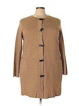 Ellen Tracy Wool Cardigan Size 3X (Plus)