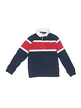 Champs Long Sleeve Polo Size 6