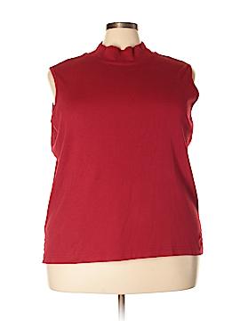 Elisabeth by Liz Claiborne Sleeveless T-Shirt Size 3X (Plus)